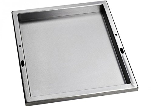 Santos Einsatzpfanne Grillplatte Grill - Bratpfanne Steakplatte Teppanyaki für Napoleon LEX485P500Pro665Pro825 4cm tief - 44 x 325 cm