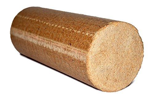 20kg mumba Probierset Rundholz Nadelholz Briketts im Karton für Kamin Ofen Herd Grill oder Lagerfeuer Holzbriketts