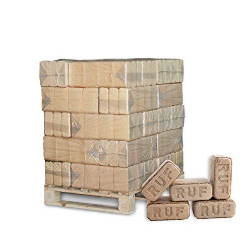 PALIGO Holzbriketts Ruf Hartholz Buche Eiche Kamin Ofen Brenn Holz Heiz Brikett 10kg x 30 Gebinde 300kg  1 Palette Heizfuxx
