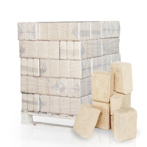PALIGO Holzbriketts Ruf Nadelholz Kamin Ofen Brenn Holz Heiz Brikett 10kg x 30 Gebinde 300kg  1 Palette Heizfuxx