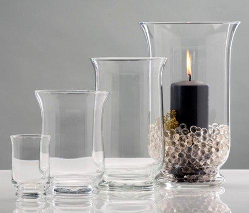 Sandra Rich Fackeln und Laternen Windlicht Glas transparent 108 x 108 x 15 cm 360068