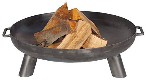 FARMCOOK Feuerschale PAN-37 Stahl unbehandelt in drei Größen Ø 70 cm H 23 cm
