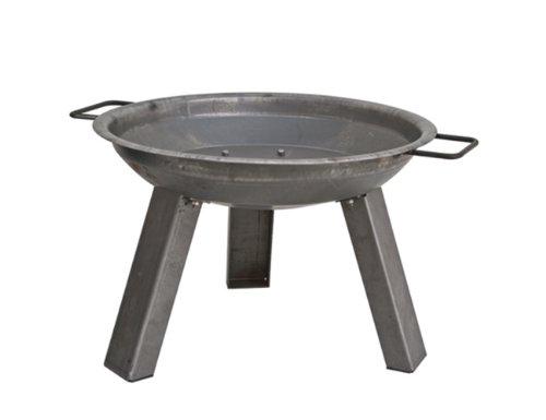 Siena Garden 750990 Feuerschale XXL Durchmesser 55 cm aus Stahl