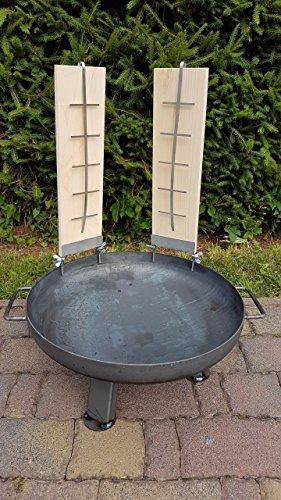 Czaja Stanzteile Feuerschale Kiel Ø 55 cm  2 Flammlachsbretter