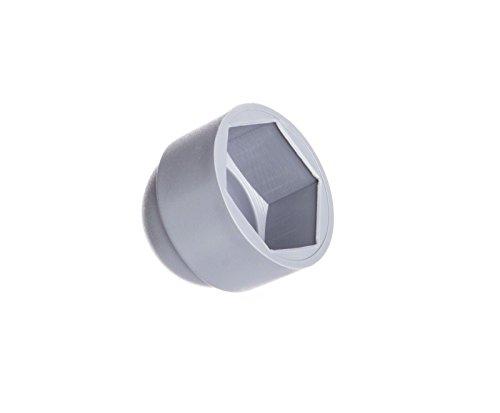 10 Stck Schutzkappen für Schrauben M10 für Schlüssel 17 Grau Abdeckkappen Blindstopfen Endkappen