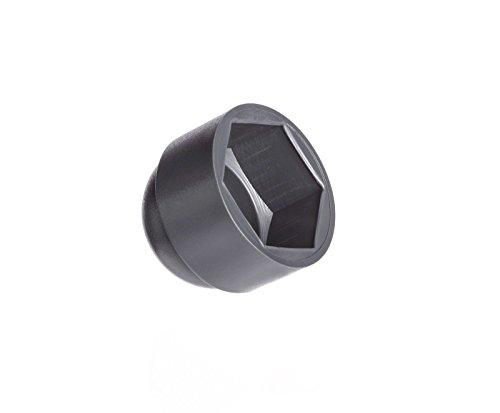 50 Stck Schutzkappen für Schrauben M16 für Schlüssel 24 Anthrazitgrau Schraubenkappen Stopfen Rohrkappen