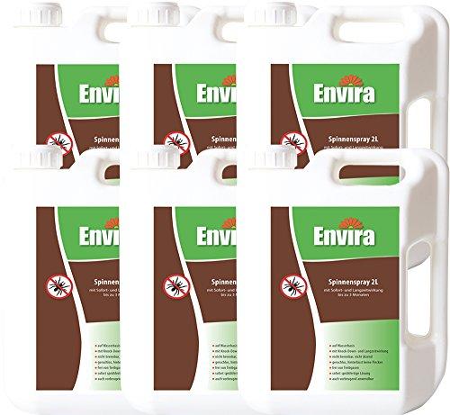 ENVIRA Spinnen-Schutz-Spray 6x2Ltr
