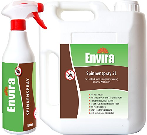 ENVIRA Spinnen bekämpfen 500ml5Ltr